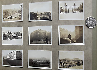 9 1920s photos HOLYROOD PALACE Mercat Cross SOLDIERS Scottish National Gallery