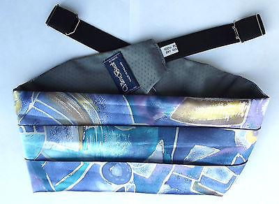 Van Buck cummerbund Very bright design eccentric English formal wear