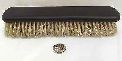 Vintage French ebony brush hair or clothes Wooden antique dressing table item