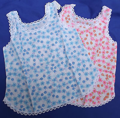 Vintage girls slips petticoat Ladybird Age 2 years 1970s underwear UNUSED